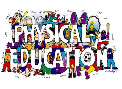 physical education art