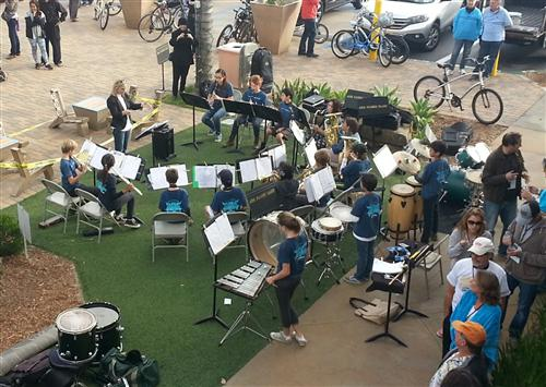 Chamber Band at Taste of Cardiff 2015